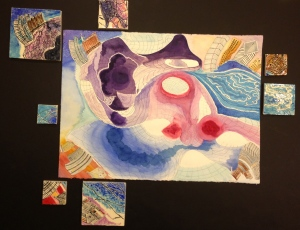 Tiles w Watercolor